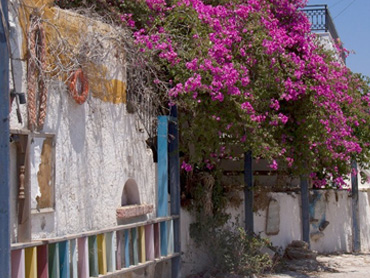 tilos traditional houses